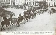 """Belgique CPA BELGIQUE """"Furnes, artillerie belge"""" / CACHET MILITAIRE"""