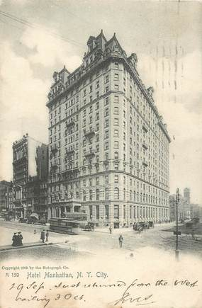 "CPA USA ""New York, Hotel Manhattan"""