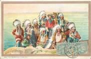 """Etat Uni CPA USA """"Indiens d'Amérique"""" / BUFFALO"""