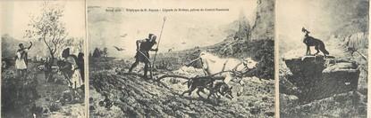 """CPA LIVRET FRANCE 84 """"Légende de Saint Gens, patron du Comtat Venaissin"""""""