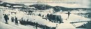 """38 Isere CPA PANORAMIQUE FRANCE 38 """"Villard de Lans, vue panoramique du tremplin des Cochettes et saut en ski"""""""