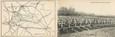 """CPA PANORAMIQUE FRANCE 02 """"Crouy Vauxrot, cimetière militaire"""