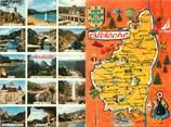"""07 Ardeche CPSM LIVRET FRANCE 07 """"Ardèche"""" / CARTE GEOGRAPHIQUE"""