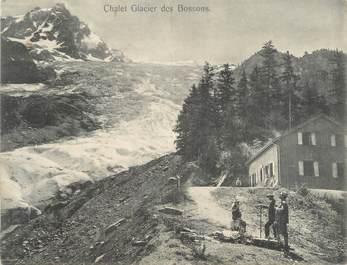 """CPA PANORAMIQUE FRANCE 74 """"Chamonix, glacier des Bossons"""""""