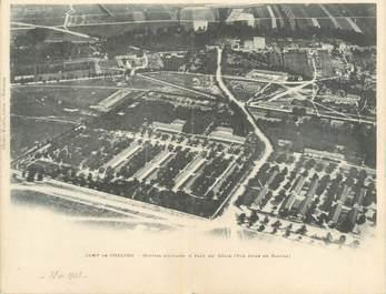 """CPA PANORAMIQUE FRANCE 51 """"Camp de Chalons, hôpital militaire et parc du Génie"""""""