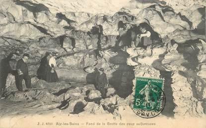 """CPA FRANCE 73 """"Aix les Bains, Fond de la Grotte des eaux sulfureuses"""""""