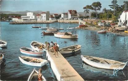 """CPSM FRANCE 83 """"Les Sablettes, le port Saint Elme"""""""