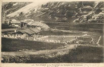 """CPA FRANCE 73 """"Val d'Isère, La Procession des Reliques de Saint Innocent"""""""