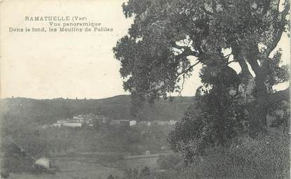 "CPA FRANCE 83 ""Ramatuelle, vue panoramique"""