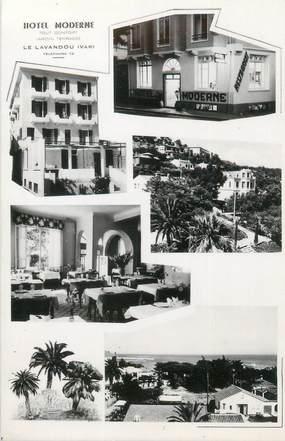 "CPSM FRANCE 83 ""Le Lavandou, hôtel moderne"""