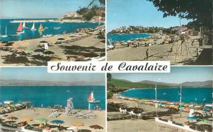 """CPSM FRANCE 83 """"Cavalaire sur Mer, la plage"""""""