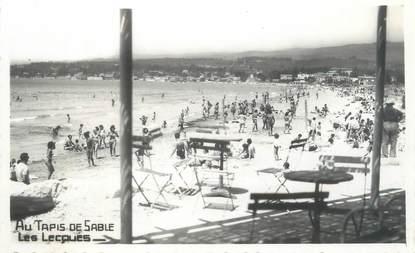 """CPSM FRANCE 83 """"Les Lecques, au tapis de sable"""""""