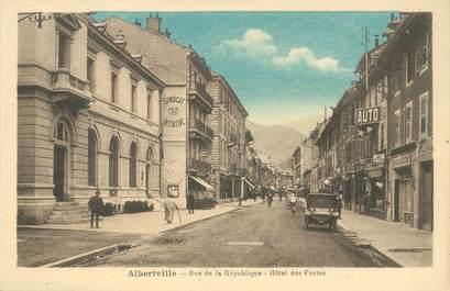 """CPA FRANCE 73 """"Albertville, rue de la République"""""""