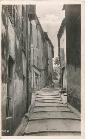 """CPSM FRANCE 83 """"Brignoles, rue Saint Esprit"""""""