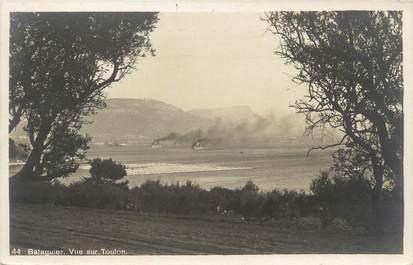 """CPSM FRANCE 83 """"Balaguier, vue sur Toulon"""""""