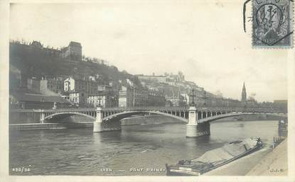"CPA FRANCE 69 ""Lyon, pont d'Ainay"""