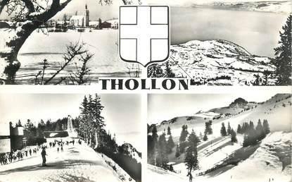 "CPSM FRANCE 73 ""Thollon"""