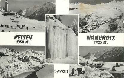 "CPSM FRANCE 73 ""Peisey Nancroix"""