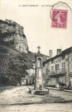 "CPA FRANCE 73 ""Saint Sorlin"""