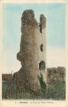 """CPA FRANCE 73 """"Miribel, la Tour du Vieux Chateau"""""""