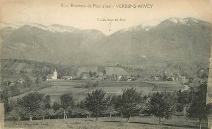 "CPA FRANCE 73 ""Verrens Arvey"""