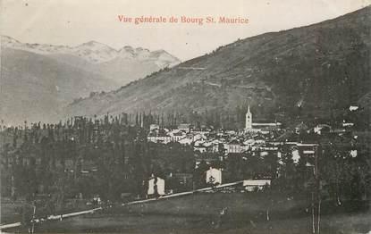 "CPA FRANCE 73 ""Bourg Saint Maurice"""
