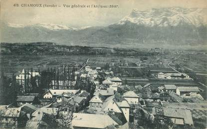 """CPA FRANCE 73 """"Chamoux"""""""