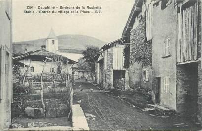 "CPA FRANCE 73 ""Env. de la Rochette, Etable"""
