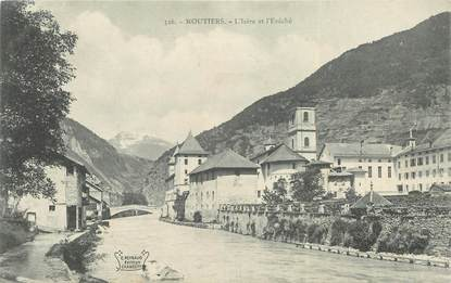 "CPA FRANCE 73 ""Moutiers"""