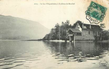"""CPA FRANCE 73 """"Le Lac d'Aiguebelette à Saint Alban de Montbel"""""""