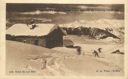 """CPA FRANCE 73 """"Saint Bon, les Chalets de Pralong"""""""