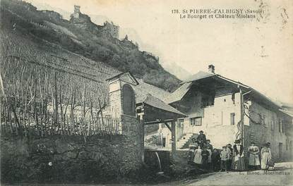 "CPA FRANCE 73 ""Saint Pierre d'Albigny"""