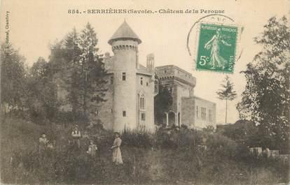 """CPA FRANCE 73 """"Serrières, Chateau de la Pérouse"""""""