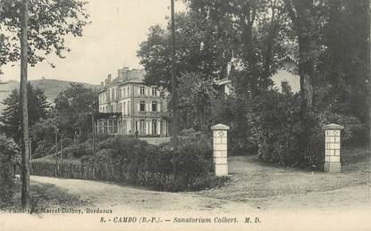 "CPA FRANCE 64 ""Cambo les Bains, sanatorium Colbert"""