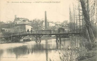 "CPA FRANCE 79 ""Chatillon sur Thouet"""