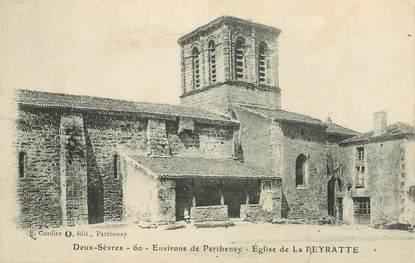 "CPA FRANCE 79 ""Env. de Parthenay, Eglise de La Peyratte"""