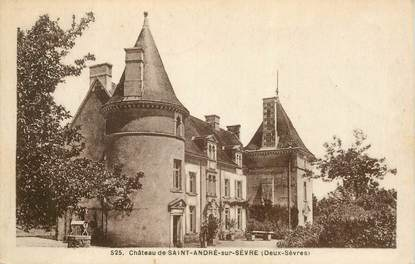 """CPA FRANCE 79 """"Chateau de Saint André sur Sèvre"""""""