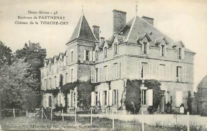 """CPA FRANCE 79 """"Chateau de la Touche Ory, Env. de Parthenay"""""""