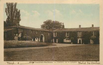 """CPA FRANCE 79 """"Thouarsais Bouldroux, Chateau de la Largère"""""""