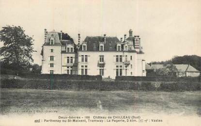 "CPA FRANCE 79 ""Chateau de Chilleau"""