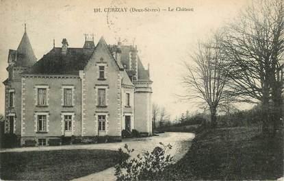 "CPA FRANCE 79 ""Cerizay, Chateau"""