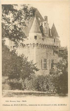 "CPA FRANCE 79 ""Chateau de Bonneuil, commune de Saint Génard"""