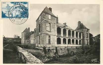"""CPSM FRANCE 79 """"Saint Martin les Melle, Chateau de Chaillé"""""""