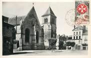 """79 Deux SÈvre CPSM FRANCE 79 """"Thouars, la place de l'Eglise"""""""