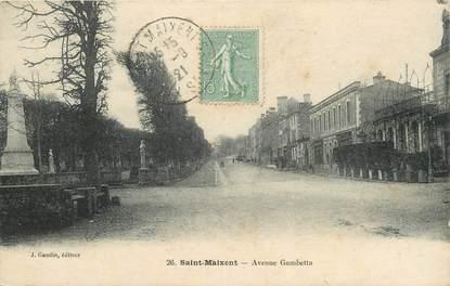 "CPA FRANCE 79 ""Saint Maixent, avenue Gambetta"""