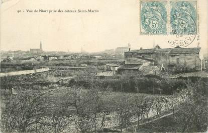 """CPA FRANCE 79 """"Niort, Coteaux Saint Martin"""""""
