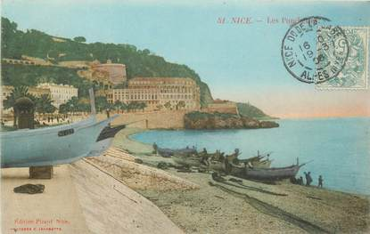 "CPA FRANCE 06 ""Nice, les Ponchettes"""