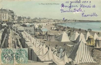 """CPA FRANCE 85 """"Sables d'Olonne, la plage"""""""