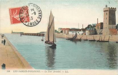 """CPA FRANCE 85 """"Sables d'Olonne, la Tour Arundel"""""""