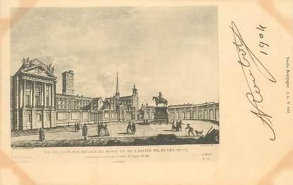 """CPA FRANCE 21 """"Dijon, Place Royale et ancien Palais des Ducs"""""""